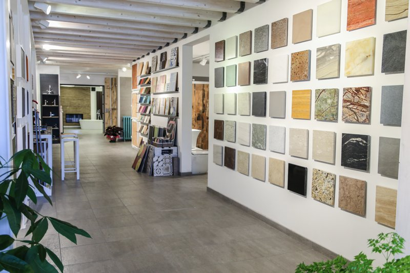 Showroom pavimenti e rivestimenti Roma