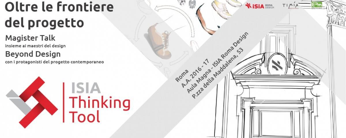 isia thinking tool. oltre le frontiere del progetto - ciclo di ... - I Protagonisti Del Design
