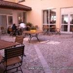 Pavimenti e rivestimenti Salizzo dè Cogoli: chiostro in sasso tondo di fiume
