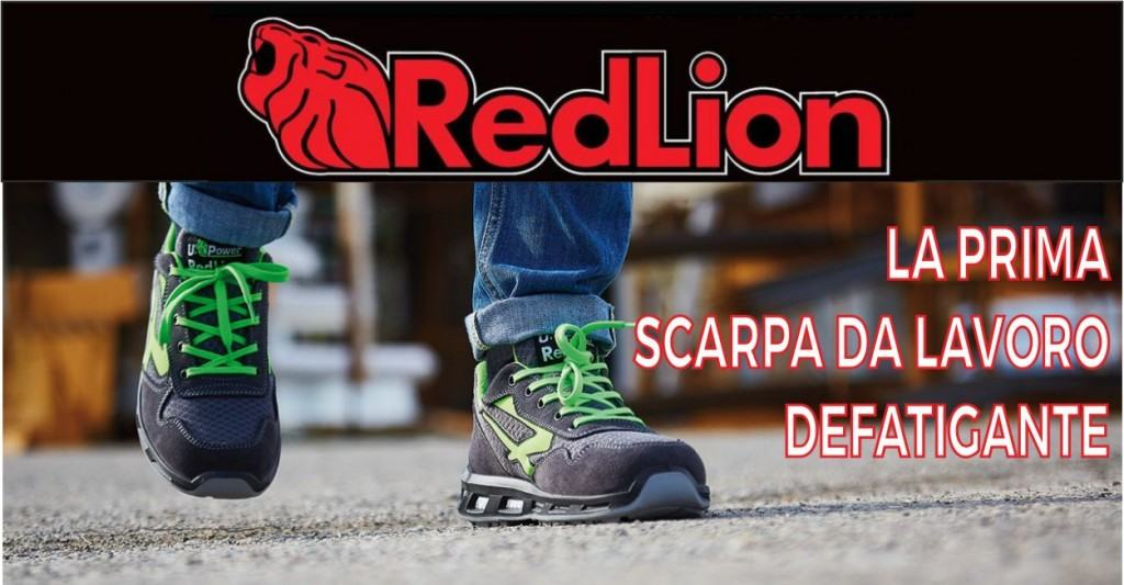 Red lion u power presenta la prima scarpa da lavoro for Mondo scarpa catalogo