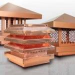 Materiali edili Landini: accessori condotti e comignoli per camini