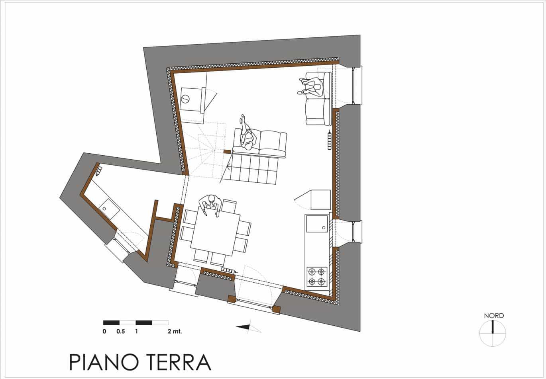 Casa zero epm romaepm roma for Piano terra della casa