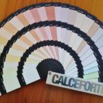 Materiali per l'edilizia e il restauro Calceforte: cartelle colori