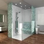 Arredo bagno Wedi: pareti divisorie Moltoromo