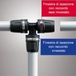 Prodotti tecnici Tece: innesto rapido push-fit