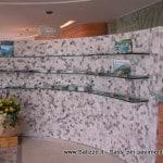 Pavimenti e rivestimenti Salizzo dè Cogoli: parete divisoria in mosaico tagliato