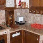 Cucina Country in travertino scabas Rustici del Trusco