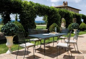 Tavolo e sedie linea Tosca Vermobil