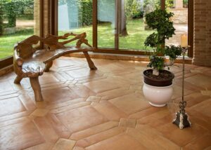 pavimento cotto Antiqua Ristorante ai Pozzi Lenola