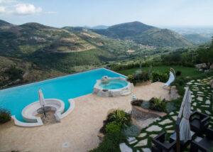pavimento esterno piscina Cotto Antiqua